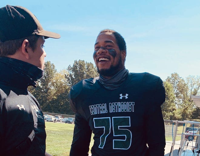 Christopher Turner Jr. plays football for Central Methodist University. Turner faces 15 years in prison for an alleged assault.
