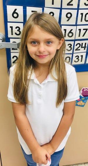 Naleah Jensen attends Food Brings Hope's KidsZone.