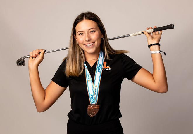 Analiese Raath is The Ledger's All-County Girls Golfer of the Year.