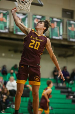 Southeast's Aidan Fischer leads area boys basketball players in scoring.
