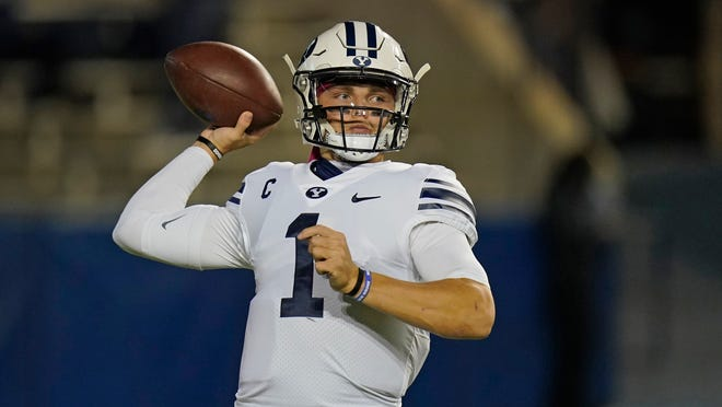 Quarterback Zach Wilson and BYU play Central Florida on Tuesday in the Boca Raton Bowl.