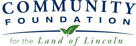 Logo for the Community Foundation for the Land of Lincoln