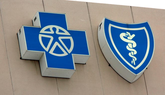 The Blue Cross Blue Shield logos.