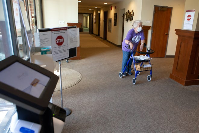 Long-term care facilities, such as Aldersgate Village Life Plan Community in Topeka, are hoping the COVID-19 vaccine will arrive in the coming weeks.