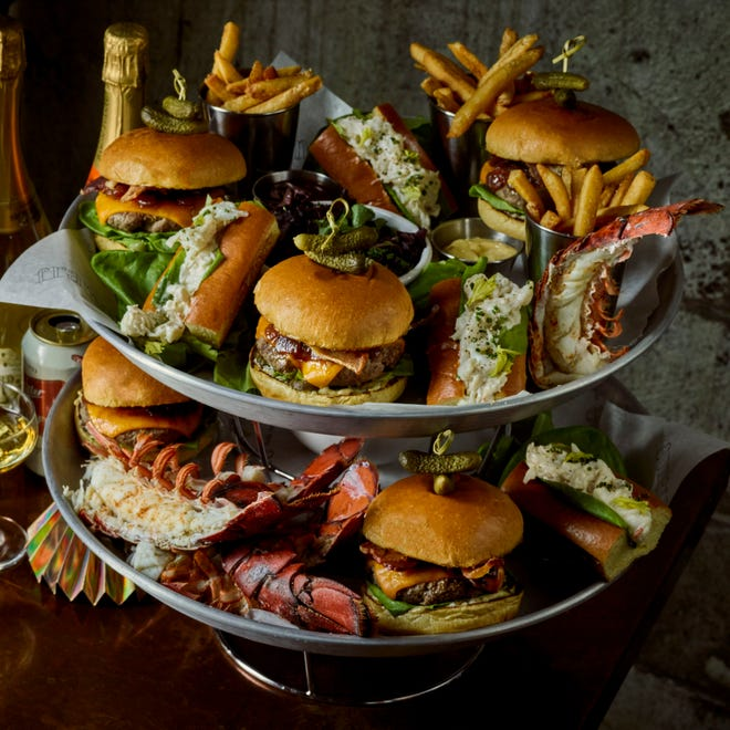 Burgers and Lobster from Frame
