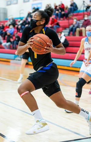 Germantown sophomore Kamorea Arnold was voted Associated Press state player of the year this season.