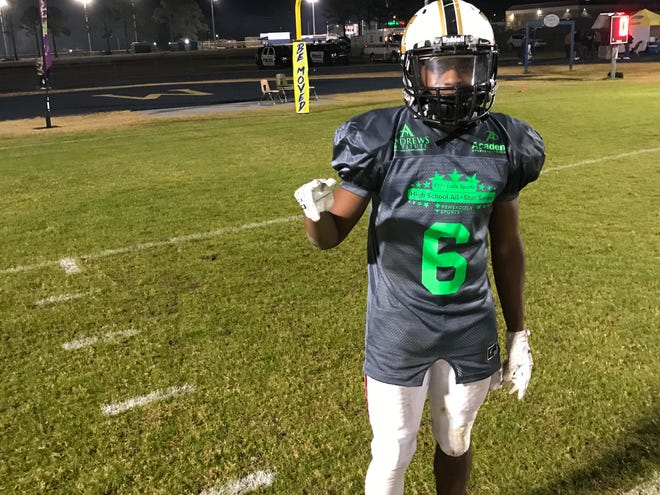 Lamonte Cunningham shined at the Pensacola Sports All-Star Game and dedicated his performance to his mother, who is in stable condition after a heart attack on Thursday.