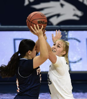 Action photos from the Nevada vs Fresno Pacific at Lawlor Events Center on Friday Dec. 18, 2020. Nevada won 71-67.