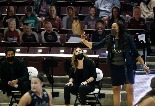 The Missouri State Lady Bears took on the South Dakota State Jackrabbits at JQH Arena on Saturday, Dec. 19, 2020.