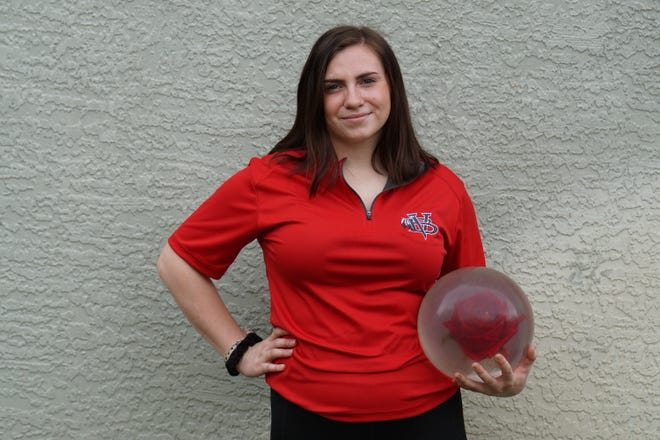 Vero Beach junior Samantha Irwin finished third at the FHSAA Bowling Championships in Orlando.