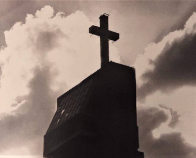 In late December 1975, Augusta businessman Gene Holley had a large cross placed atop one of Augusta's tallest buildings.