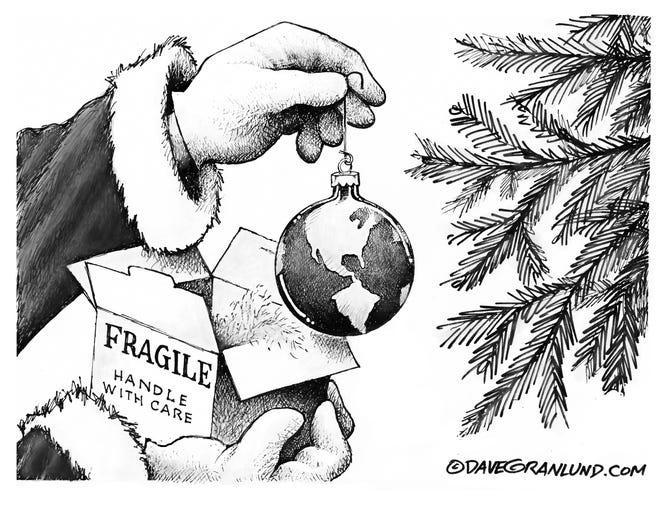 A Dave Granlund cartoon: Peace on Earth