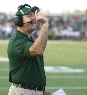 Scott Garcia will start his second tenure as GlenOak's head football coach this fall.