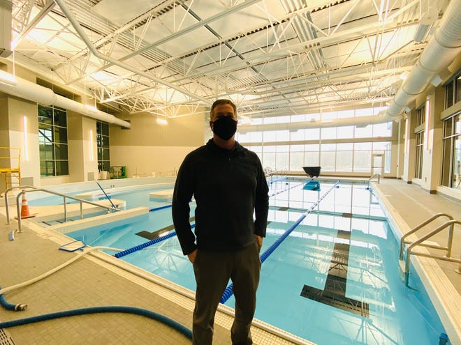 Mike Phillips, recreation and operations superintendent for Westerville Parks & Recreation, said the warm-water therapy pool and a connecting party room should be open to the public by the end of January, pending relaxed coronavirus restrictions.