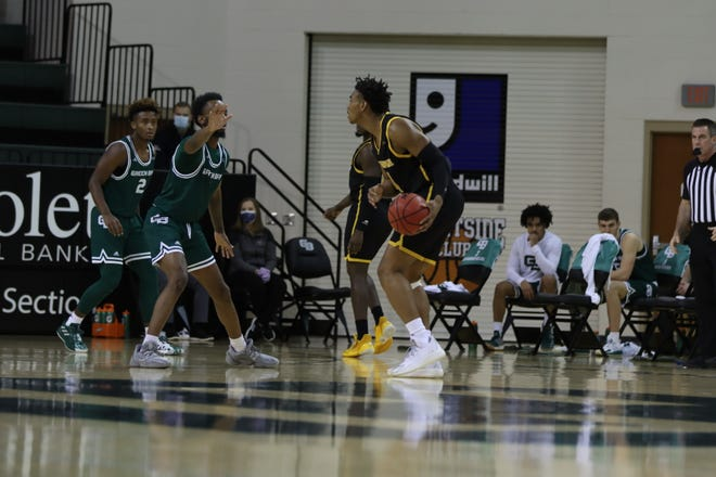 The UWGB men's basketball team was swept by UW-Milwaukee in back-to-back games after a 74-62 loss on Sunday at the Kress Center.