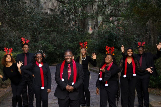 The FAMU Gospel Choir performed three songs in the Disney Parks Magical Christmas Celebration, which will air on ABC from 10 a.m. to noon Friday, Dec. 25.