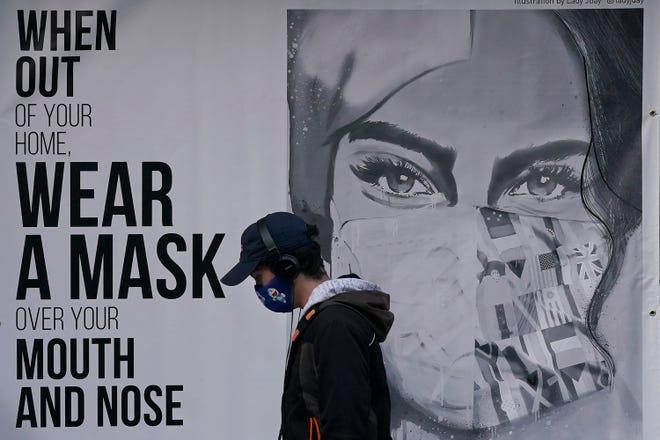 Mural on Nov. 21, 2020, in San Francisco.