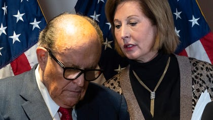 Domoinion suing Guiliani