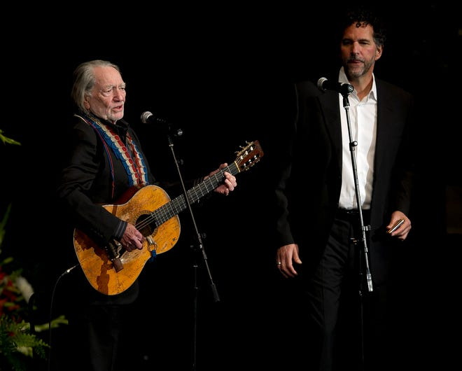 Willie Nelson and his longtime harmonica sidekick, Mickey Raphael, will be among the special guests for an Avett Brothers virtual event on New Year's Eve.