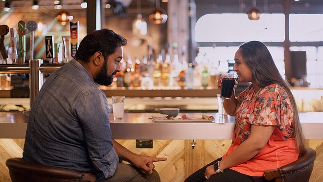 """Austinite Vyasar Ganesan was featured on a Netflix reality show called """"Indian Matchmaker."""""""