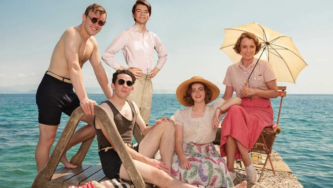 """""""The Durrells in Corfu"""" is a PBS Masterpiece show about a British family that moves to Greece in the 1930s."""