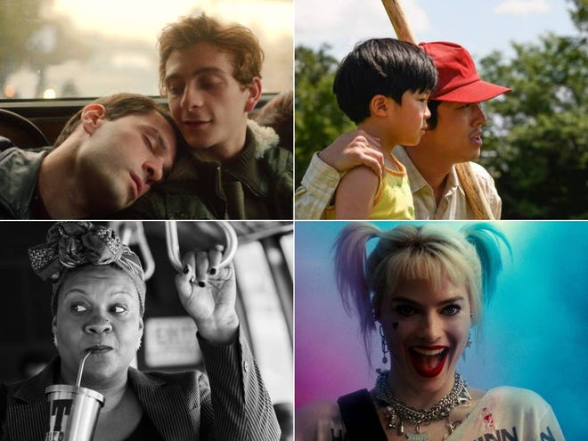 "Austin360's list of top 25 movies of 2020 includes a little bit of everything. Clockwise from top left: ""And Then We Danced,"" ""Minari,"" ""Birds of Prey"" and ""The Forty-Year-Old Version."""