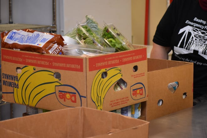 St. Jude Catholic Church in Eugene with the help of  the Knight of Columbus will distribute 450 free boxes of fresh food on Tuesday morning.