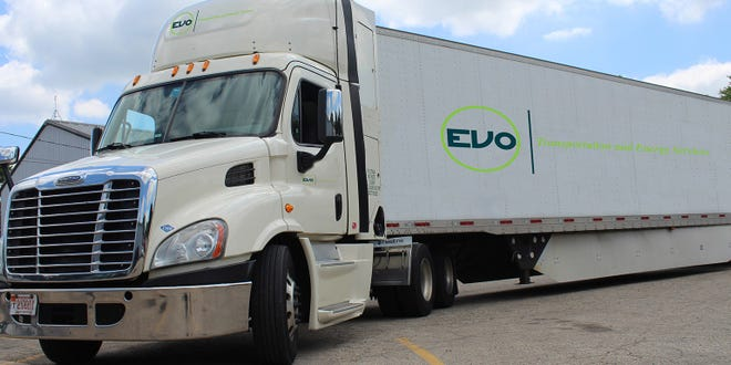 Shipping company EVO Transportation and Energy Services said it is permanently closing its Austin operations and eliminating 104 jobs.
