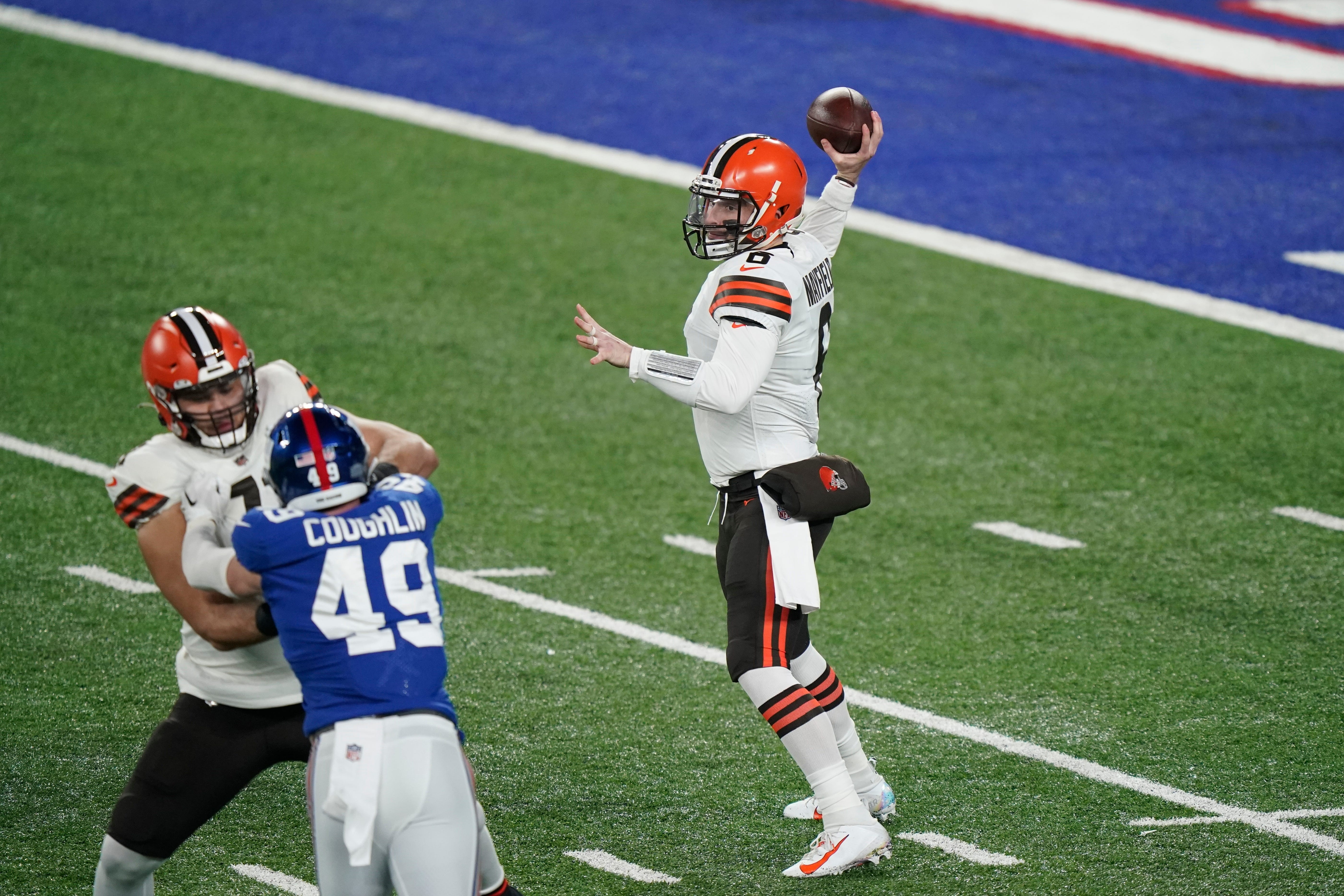 Browns Jets Betting Line Baker Mayfield How To Watch Game Time Weather