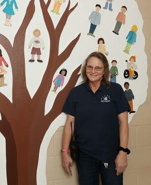 Julie Van Horn, head custodian at Ellsworth Hill Elementary School in Hudson, is a Make the Grade Difference Maker.