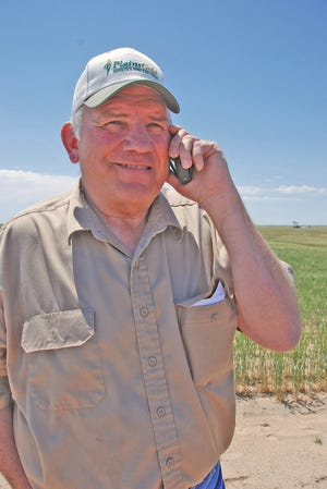 Burl Scherler, owner of Sand Creek Inc., a seed dealership at Sheridan Lake, Colorado, says wheat varieties developed by CSU wheat breeder Scott Haley are so good and so well adapted that he doesn't sell anything else. Haley is retiring at the end of the month after 22 years at CSU. Scherler says he'll be missed.