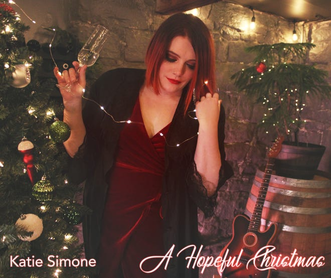 Katie Simone has a new Christmas release recorded at Studio Joe in Center Township.