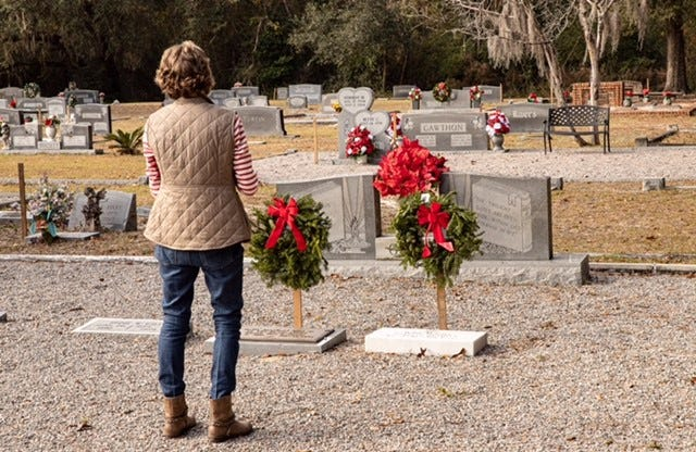 A Wreaths Across America event was held Dec. 19 at the Ridgeland Cemetery.