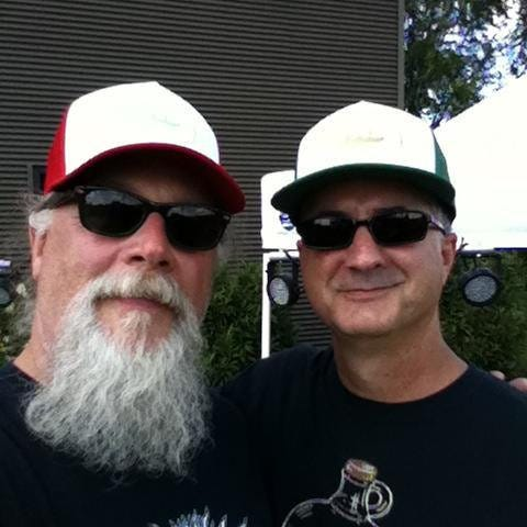 Dave Dearnley, left, and Dave Angle make up the core of Columbia band The Daves