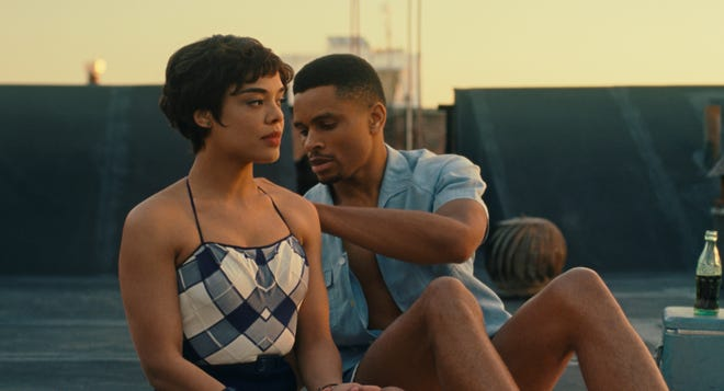 "Nnamdi Asomugha and Tessa Thompson in ""Sylvie's Love"""