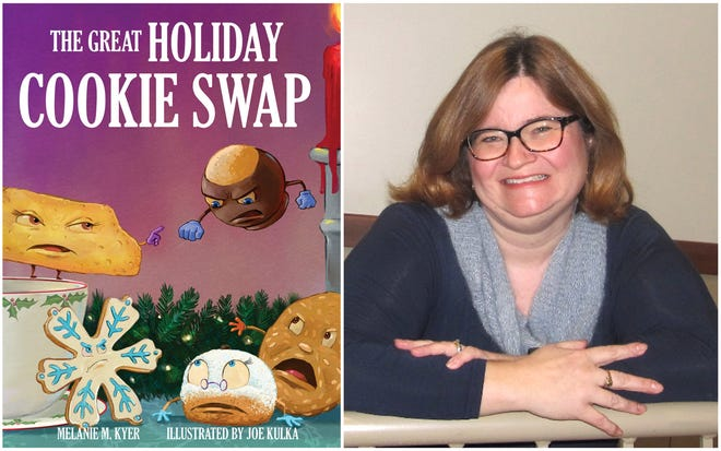 """Melanie Kyer, who teaches German at York High School, authored """"The Great Holiday Cookie Swap,"""" a book released in 2020."""