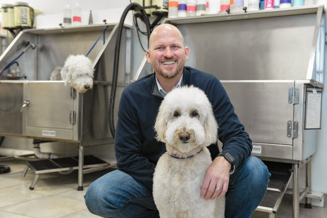 Jupiter resident Tim Vogel opened his first Scenthound location in 2015, and there are now five locations in Palm Beach County with more on the way. Scenthound is a membership-based, wellness-focused groomer that offers preventive care for dogs.