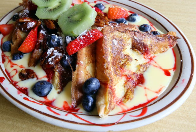 The Breakfast All Day Joyride can start at Pawtucket's Modern Diner. Don't miss their fancy French toast.