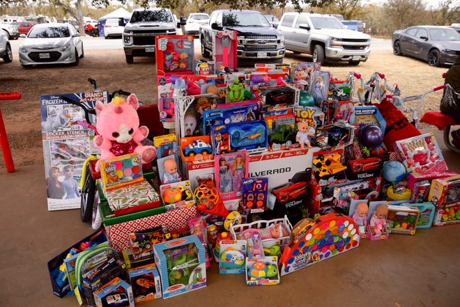 The Coal Burnin' Toy Drive BBQ Cook Off was organized by Tony and Jennifer Flores to help bring in toys for the Runnels County Sheriff Department's annual toy drive.