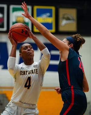 Nila Blackford and the Kent State women's basketball team will host Florida State on Dec. 21.