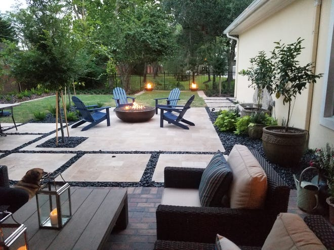 A GOOD YEAR FOR THE YARD: From rendering to reality, this yard makeover came during a year when the pandemic ushered in a greater appreciation for outdoor living. (Photos / Marni Jameson)