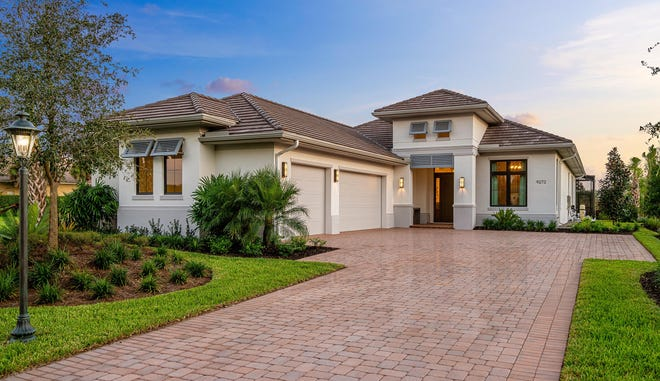 The Davidson model home, by London Bay Homes, was recently sold in The Founders Club.
