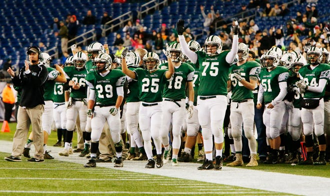 Head coach Rick White and the Dartmouth Indians made two trips to Gillette Stadium in the 2010s, winning both times