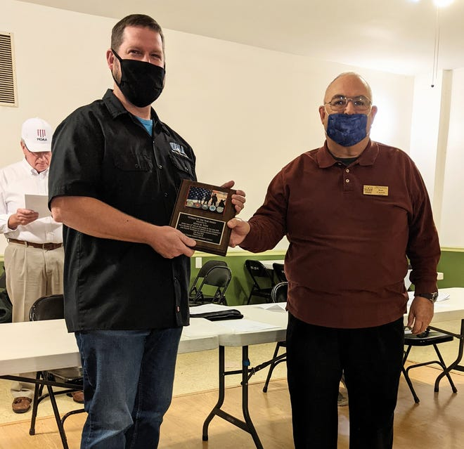 Kevin M. Yates has been awarded the Craven County Veterans Council's Veteran of the Year for 2020. [CONTRIBUTED PHOTO}