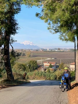 Fairfield Harbour resident Tony Difede enjoyed biking through Italy in the autumn. [CONTRIBUTED PHOTO]