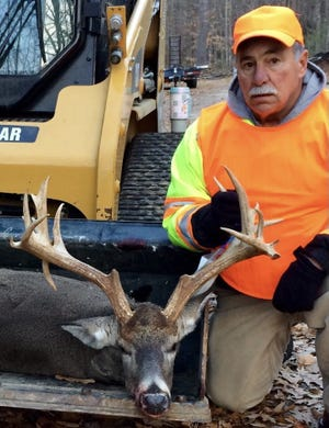 This 20-point buck was taken by John Frederico in Hubbardston.