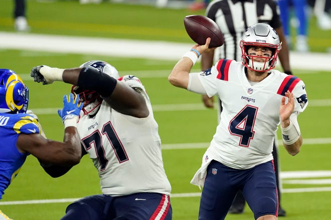 After getting eliminated from postseason contention, the Patriots may give Jarrett Stidham a look at quarterback over the final two games.