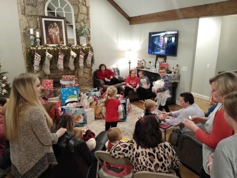 Misty Smith's extended family gathered last year for Christmas, but after several family members have suffered from COVID-19, they won't this year. Smith's mother was released from a hospital to a rehab facility, and won't be released in time for Christmas, Smith said.