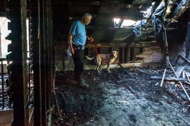 To help combat arson fraud and increase community awareness of the problem, State Farm has been providing financial support for the acquisition and training of accelerant detection canines.