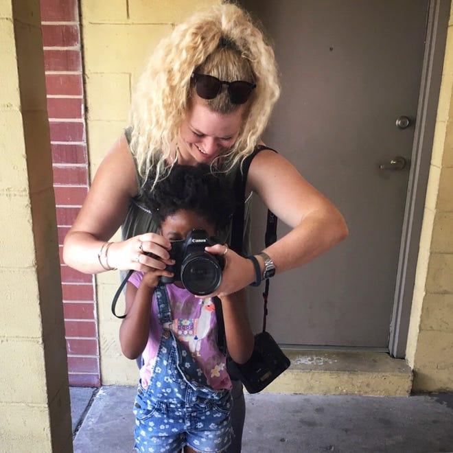 Cincinnati Enquirer photojournalist Meg Vogel.